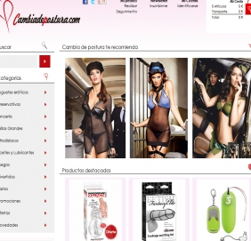 Tiendas online - Cambia de Postura - Sex Shop online modelo Dropshipping.