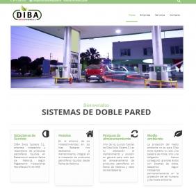 Diseño web - DIBA Swiss Systems